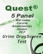 Basic 5 Panel Quest Diagnostics Urine Drugscreen