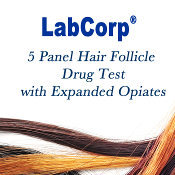 LabCorp  5 Panel  Hair Follicle Test Drug