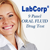 LabCorp  9 Panel  Oral Fluid Test Drug - SALIVA