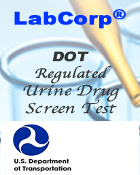 DOT  LABCORP-Urine Drugscreen (Regulated)